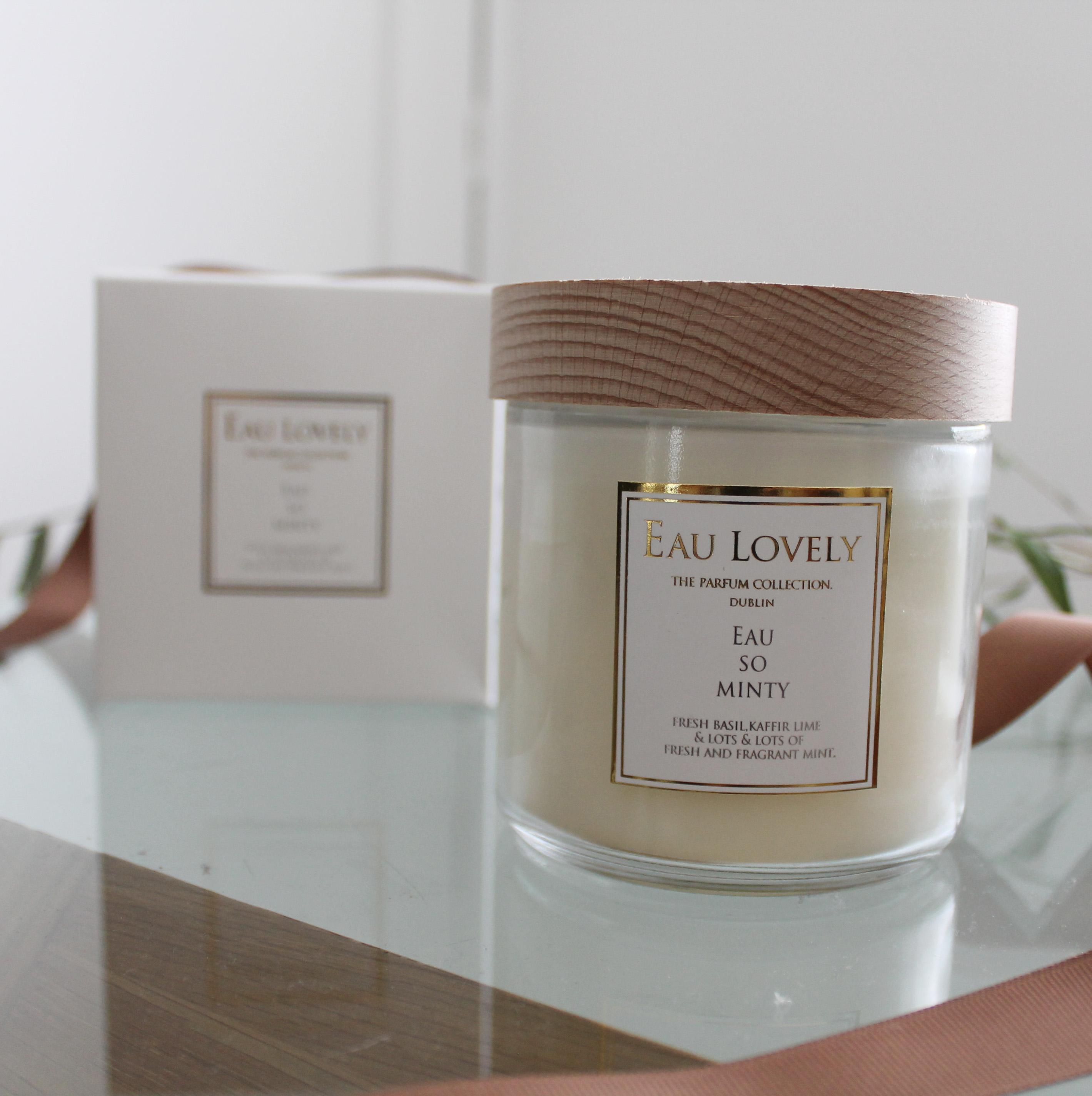 eau so minty jar - Eau Lovely - Rachel McCann