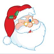 merry-santa-winking - Eau Lovely - Rachel McCann