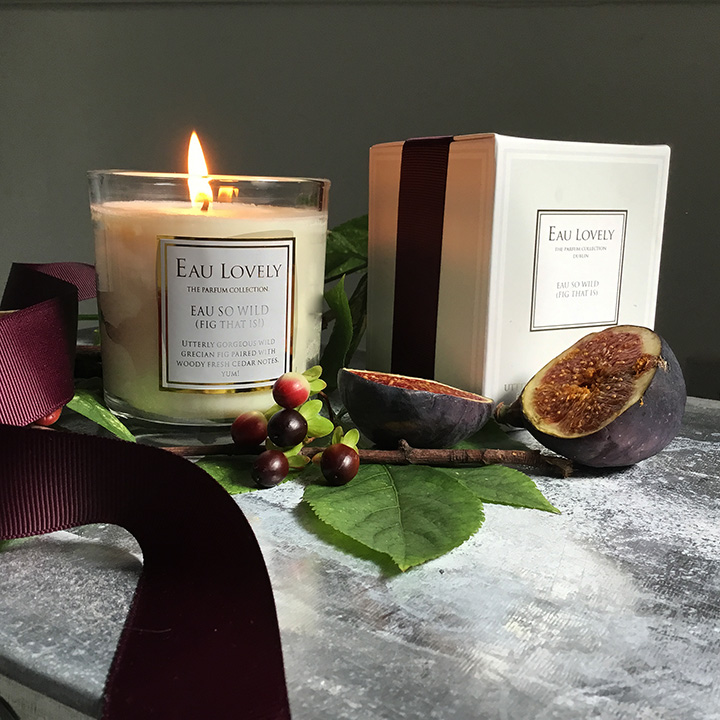 fig candle natural wax